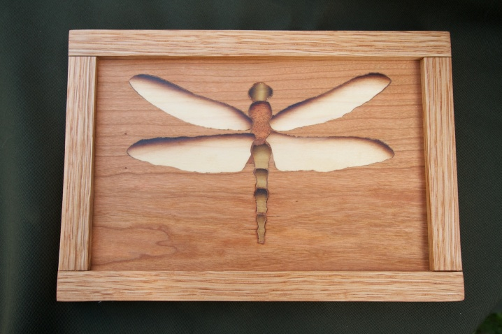 Dragonfly decorative wall panel