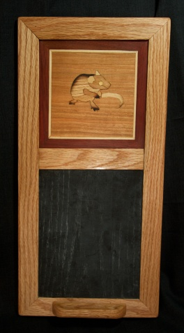 Field Mouse chalkboard, oak